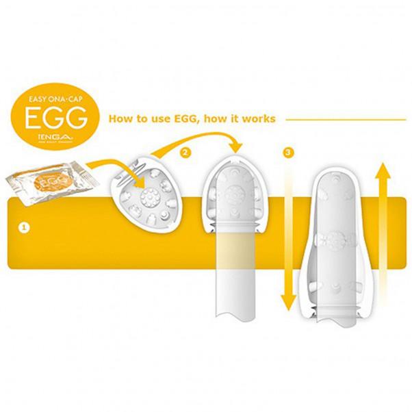 TENGA Eggs 6 pack Onani Håndjob til Mænd  3