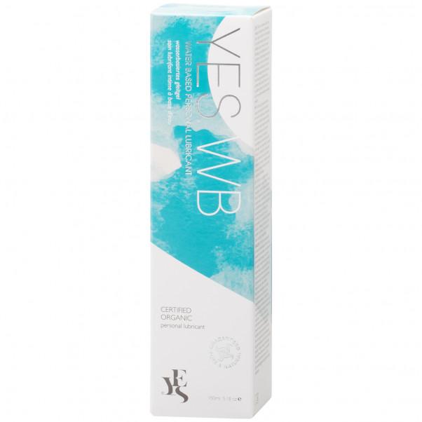 YES Vandbaseret Intimpleje og Glidecreme 150 ml  10