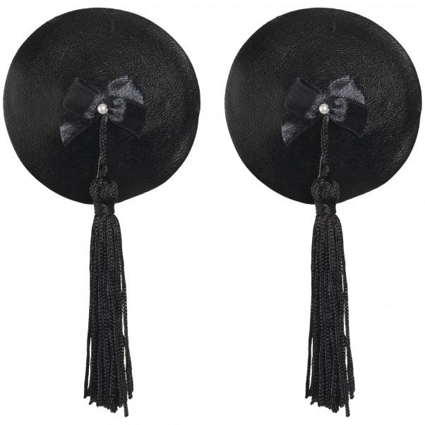 Bijoux Burlesque Pasties Læder Brystsmykker Produktbillede 1