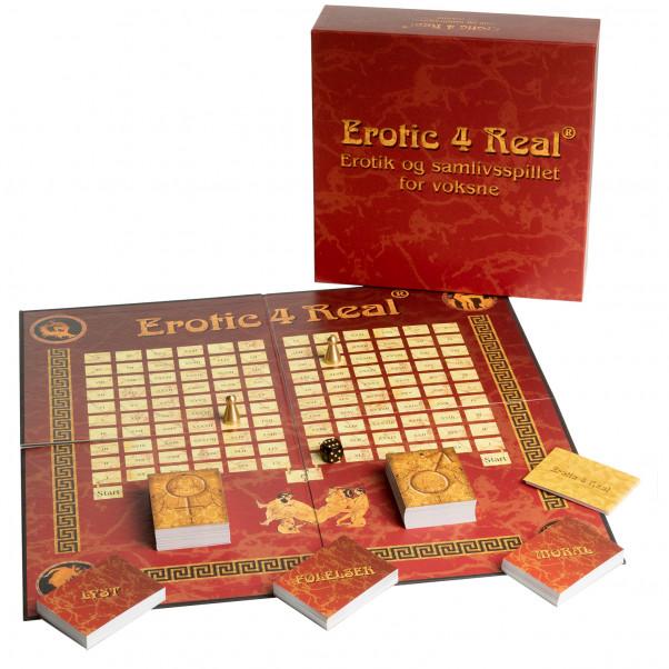 Erotic 4 Real Brætspil på Dansk  1