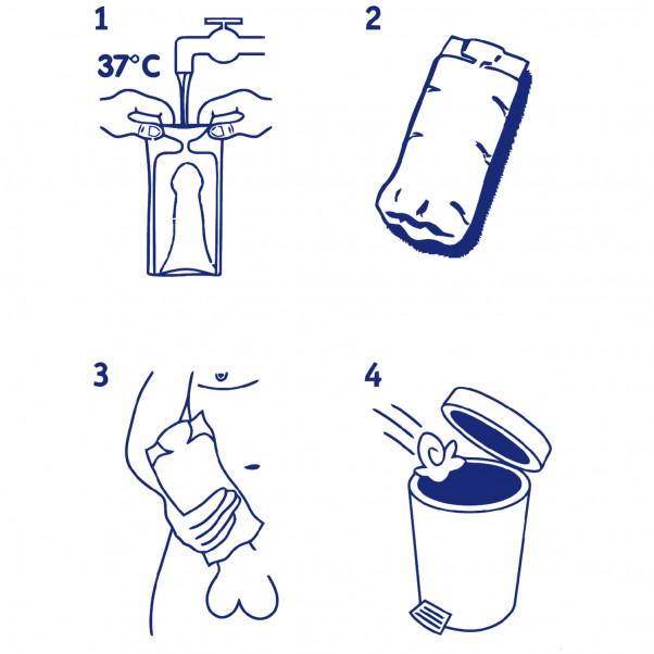WaterWoman Anal Onaniprodukt til Mænd 3 stk -TESTVINDER illustration 20