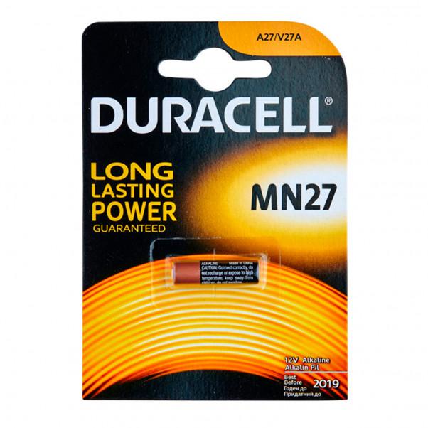 Duracell A27 12V Batteri 1 stk  1