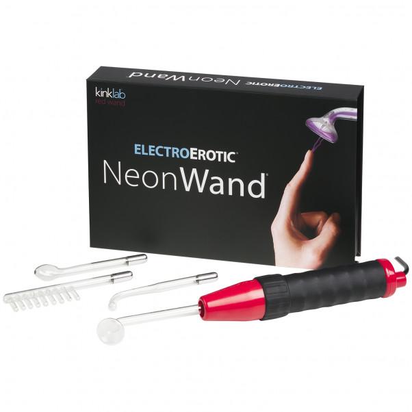 Kinklab Neon Wand Elektrosex Violet Wand Kit billede af emballagen 1