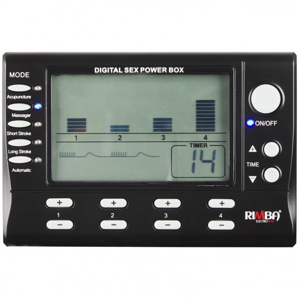Rimba Digital Elektrosex Box 4 Kanaler billede af emballagen 2