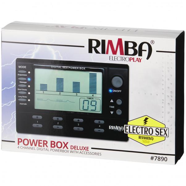 Rimba Digital Elektrosex Box 4 Kanaler billede af emballagen 90