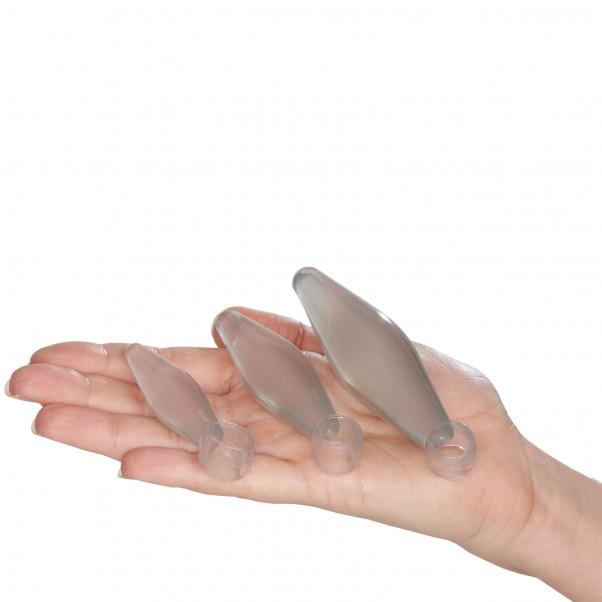 Toy Joy Anal Plugs Finger Sæt 3 stk håndbillede 50