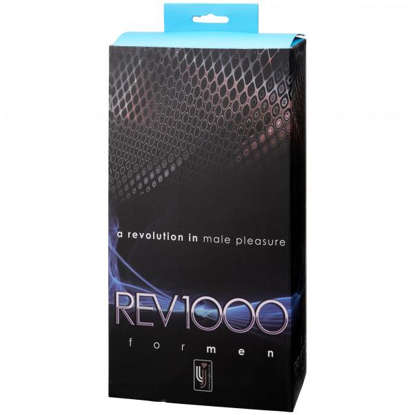 REV1000 Roterende Onaniprodukt til Mænd billede af emballagen 90