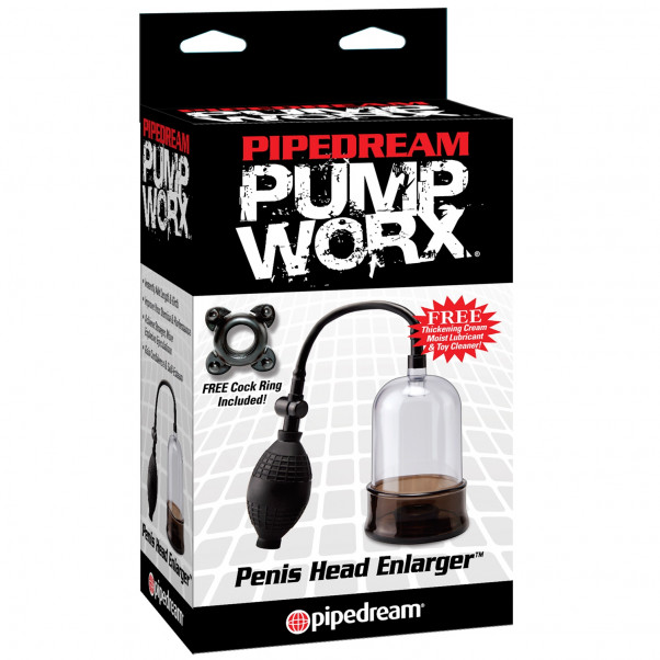 Pump Worx Penis Hoved Forstørre