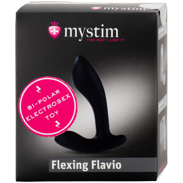 Mystim Flexing Flavio Silikone Elektro Analplug  100