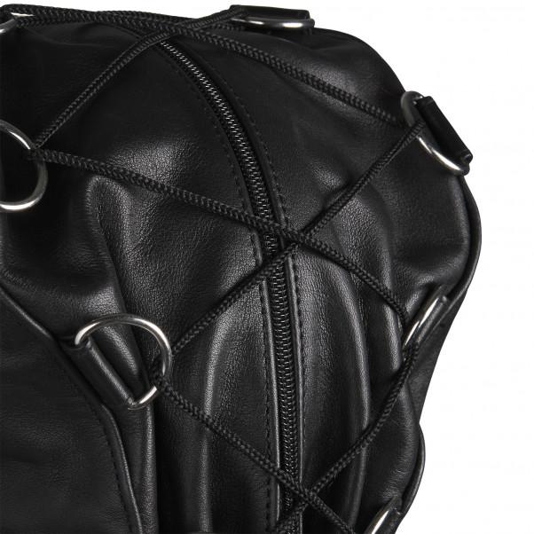 Rimba Justerbar Læder Maske produktbillede 5
