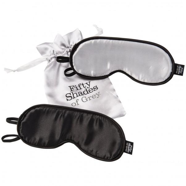 Fifty Shades of Grey Dobbelt Blindfold Sæt  2