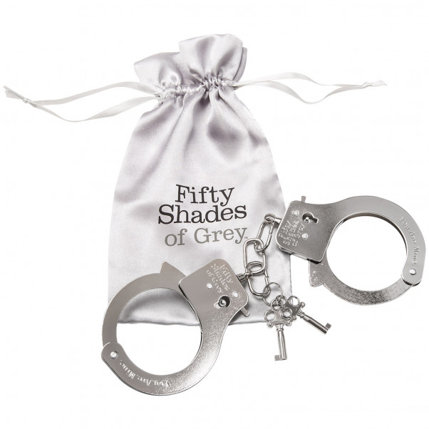 Fifty Shades of Grey You Are Mine Metal Handcuffs  2