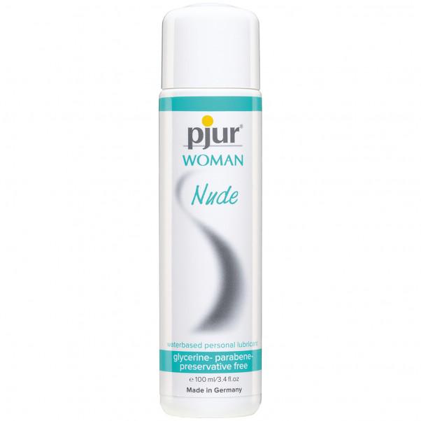 Pjur Woman Nude Vandbaseret Glidecreme 100 ml - PRISVINDER  1