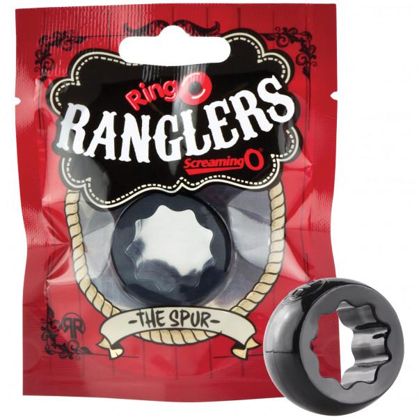 Screaming O RingO Rangler The Spur Penisring  3