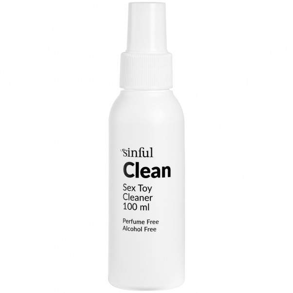 Sinful Clean Sexlegetøjs Rengøring 100 ml produktbillede 2
