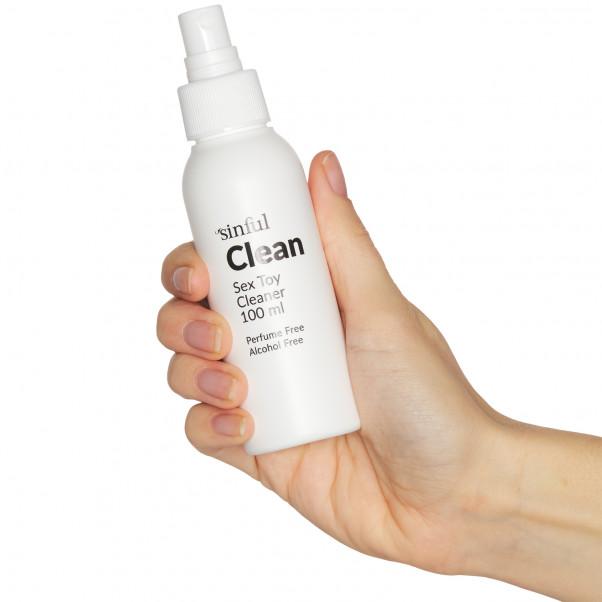 Sinful Clean Sexlegetøjs Rengøring 100 ml håndbillede 51