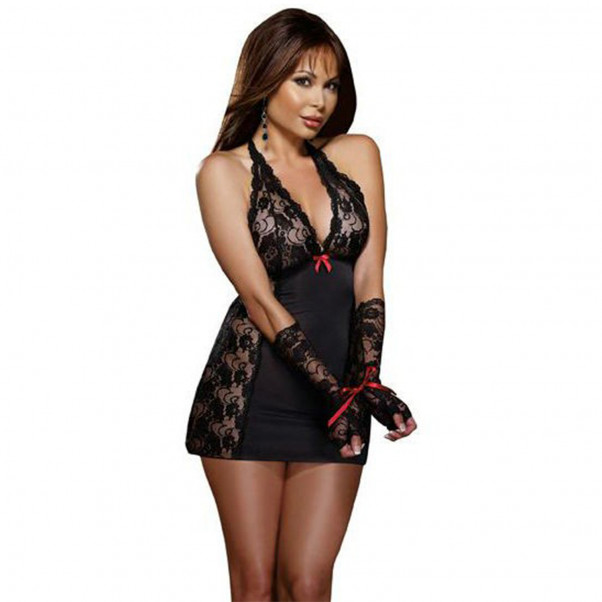 Dreamgirl Restrained Passion Blonde Chemise  3