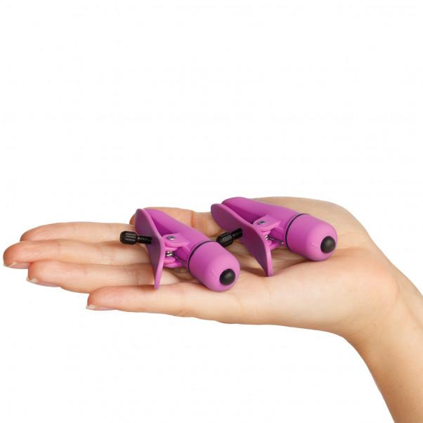 Nipplettes Brystklemmer med Vibrator billede af emballagen 50