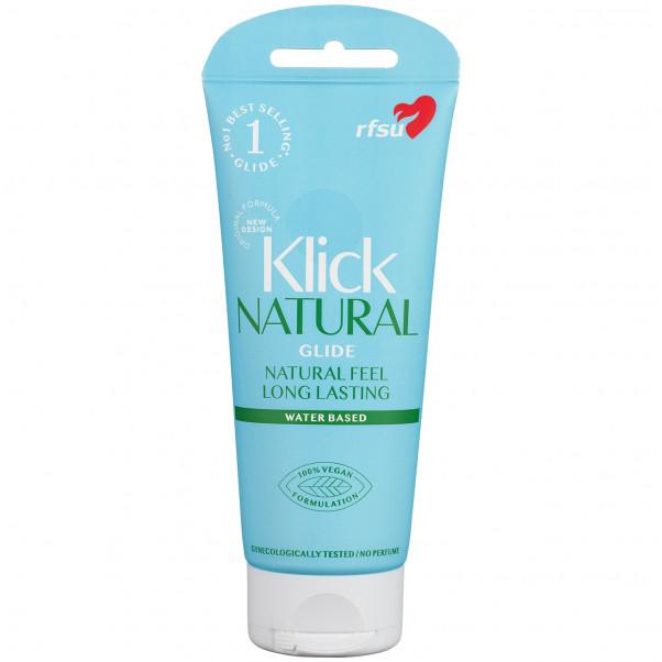 RFSU Klick Natural Glide Vandbaseret Glidecreme 100 ml produktbillede 1