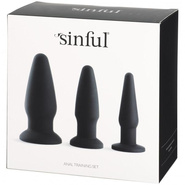 Sinful Anal Training Sæt Silikone Pack 90