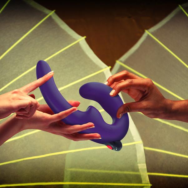 Fun Factory ShareVibe Strap-on Vibrator billede af emballagen 50