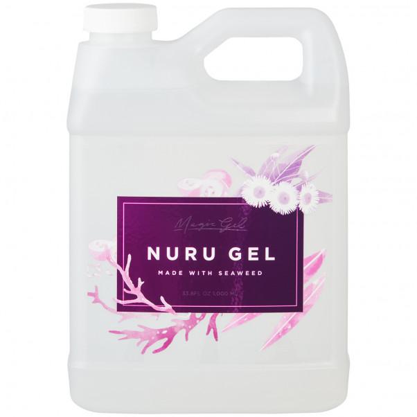 Magic Gel Moist Nuru Gel Til Krops Massage 1000 ml produktbillede 1