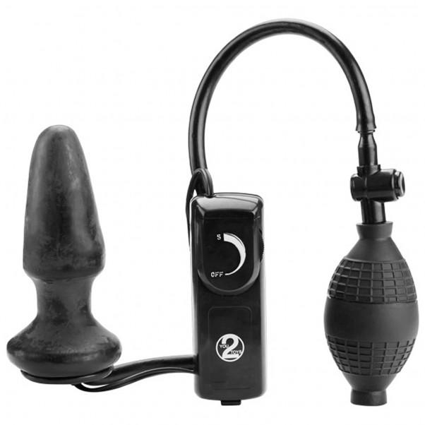 Fanny Hill Butt Plug Oppustelig Med Vibrationer  1