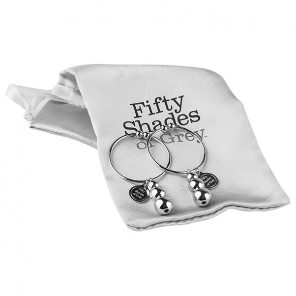Fifty Shades of Grey Pleasure and Pain Nipple Rings