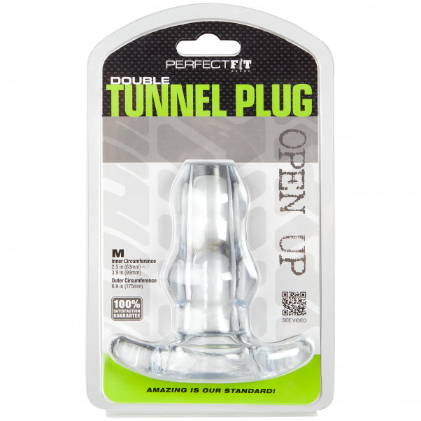 Perfect Fit Double Tunnel Plug Medium billede af emballagen 90