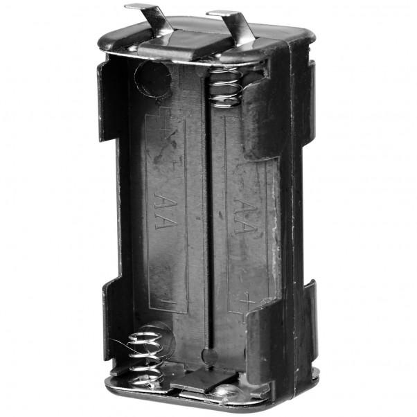 Batterikasse til Rabbit Vibrator Hvid Sort