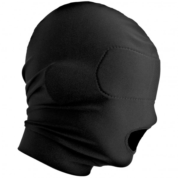Master Series Disguise Open Mouth Maske med Blindfold  2