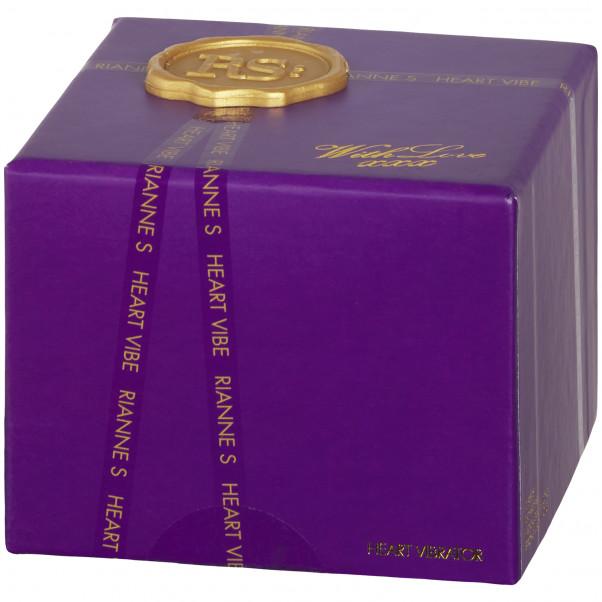 Rianne S Heart Vibe Mini Vibrator billede af emballagen 90
