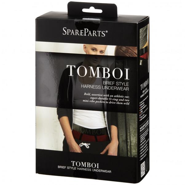 SpareParts HardWear Tomboi Brief Harness til Kvinder billede af emballagen 90