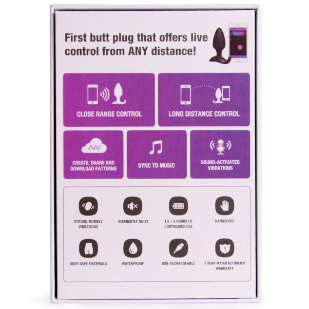 Lovense Hush App-styret Butt Plug Medium produktbillede 6