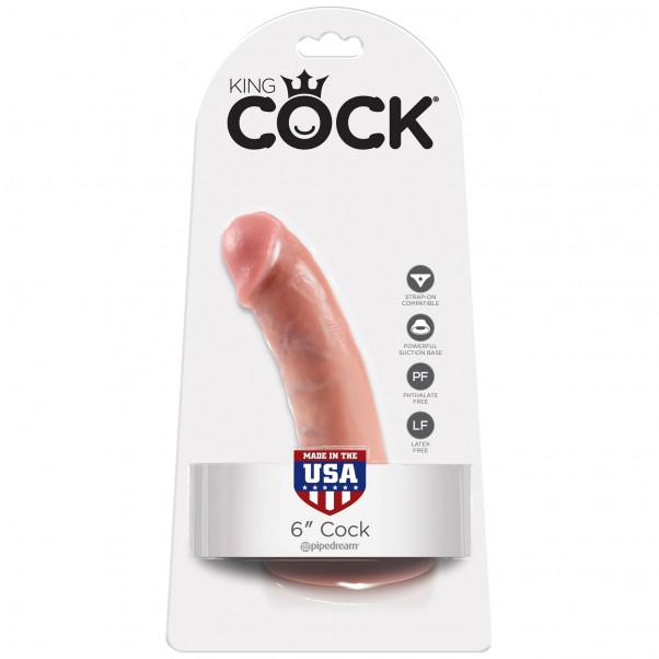 King Cock Realistisk Dildo 15 cm