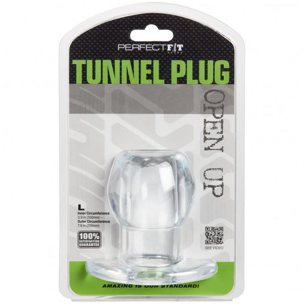 Perfect Fit Ass Tunnel Plug Large billede af emballagen 90