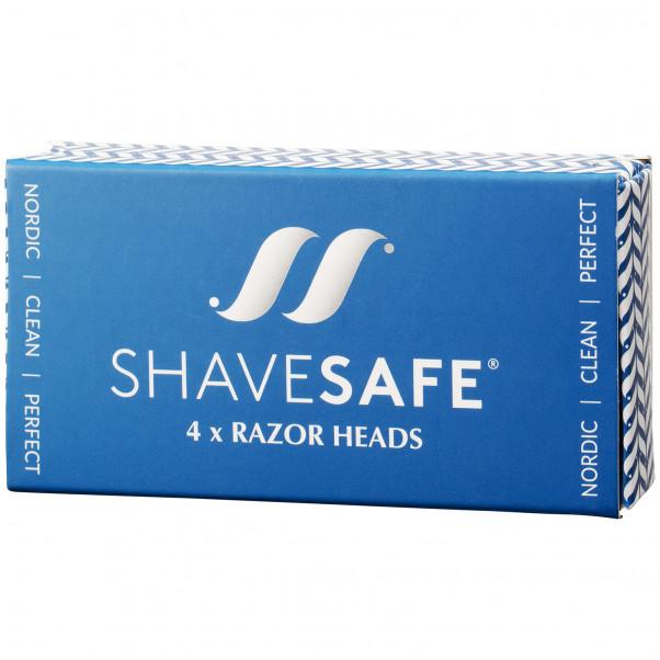 ShaveSafe Razor Super Blade 4 stk  100