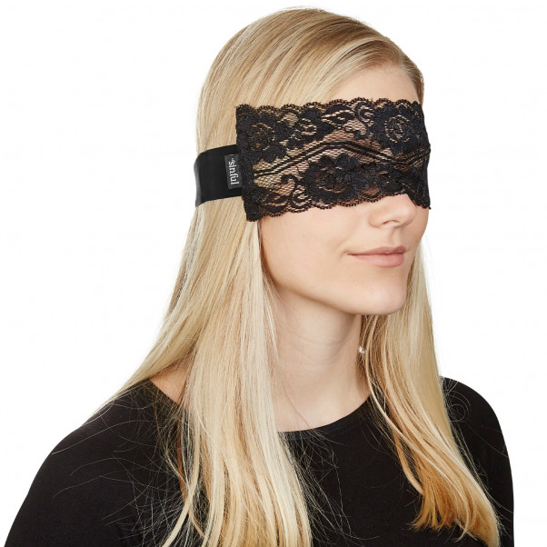 Sinful Deluxe Blonde Blindfold  5