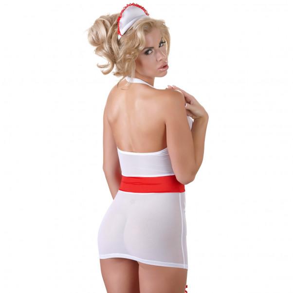 Cottelli Sygeplejerske Uniform med Strømpeholder  2