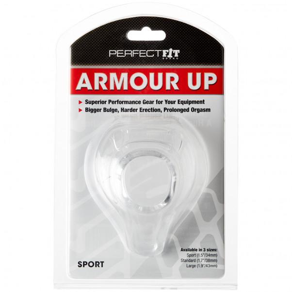 Perfect Fit Armour Up Sport Penisring billede af emballagen 91