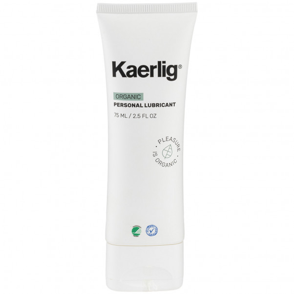 Kaerlig Økologisk Vandbaseret Glidecreme 75 ml  1