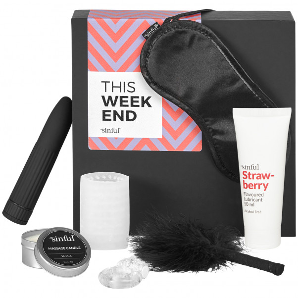 Sinful This Weekend Sexlegetøj Boks med A-Z Guide produktbillede 1