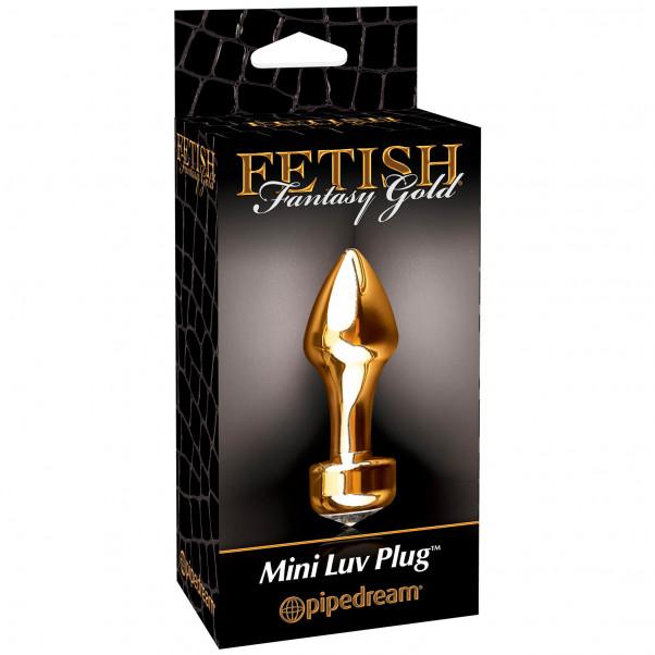 Fetish Fantasy Gold Mini Luv Butt Plug