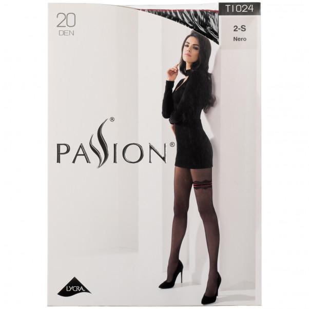 Passion Strømpebukser med Strømpebånd Pack 90
