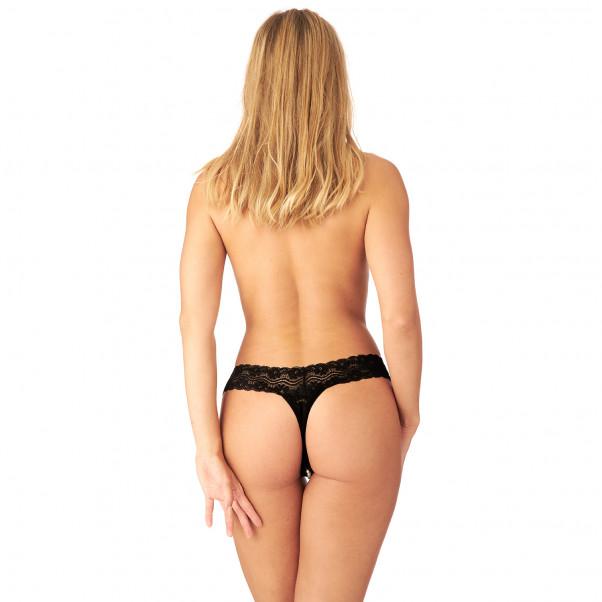 Nortie Malin Bundløs Orgasme Perle G-Streng produkt på model 3