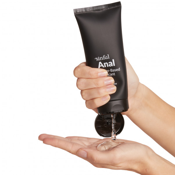 Sinful Anal Glidecreme 200 ml håndbillede 50