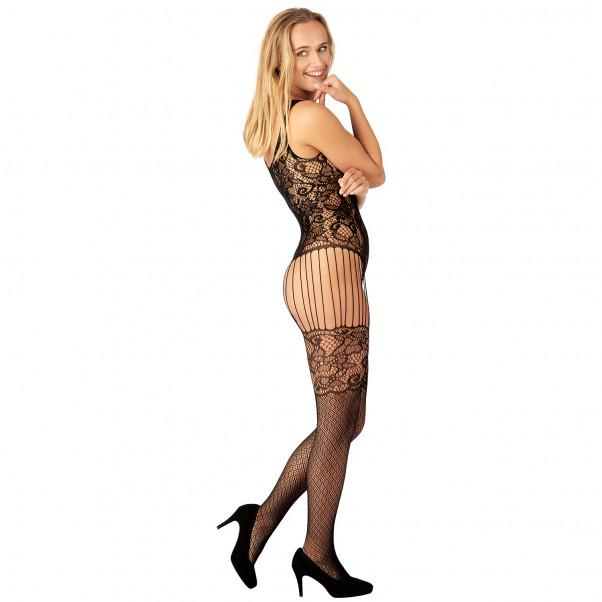 Nortie Astrid Bundløs Blonde Catsuit produkt på model 2