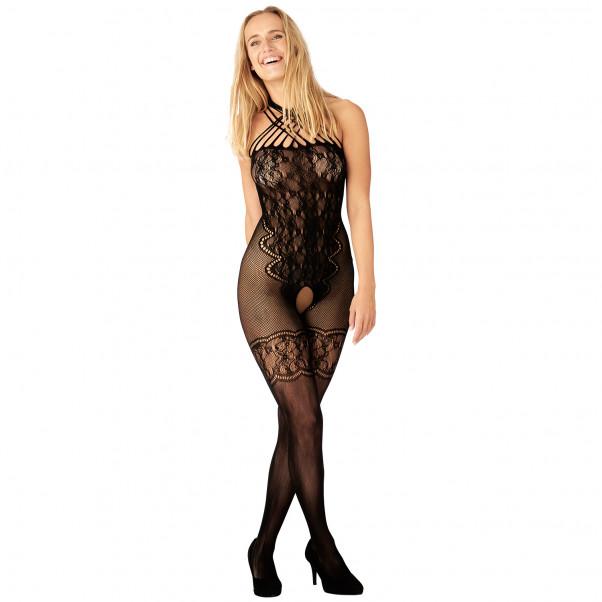 Nortie Helga Bundløs Blonde Catsuit produkt på model 1