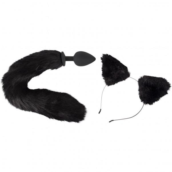 Bad Kitty Katte Anal Plug og Ører  1