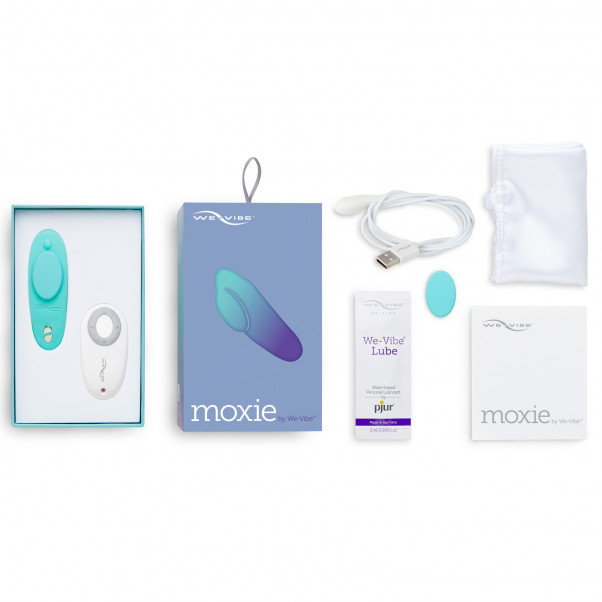 We-Vibe Moxie Trusse Vibrator med Fjernbetjening og App billede af emballagen 5